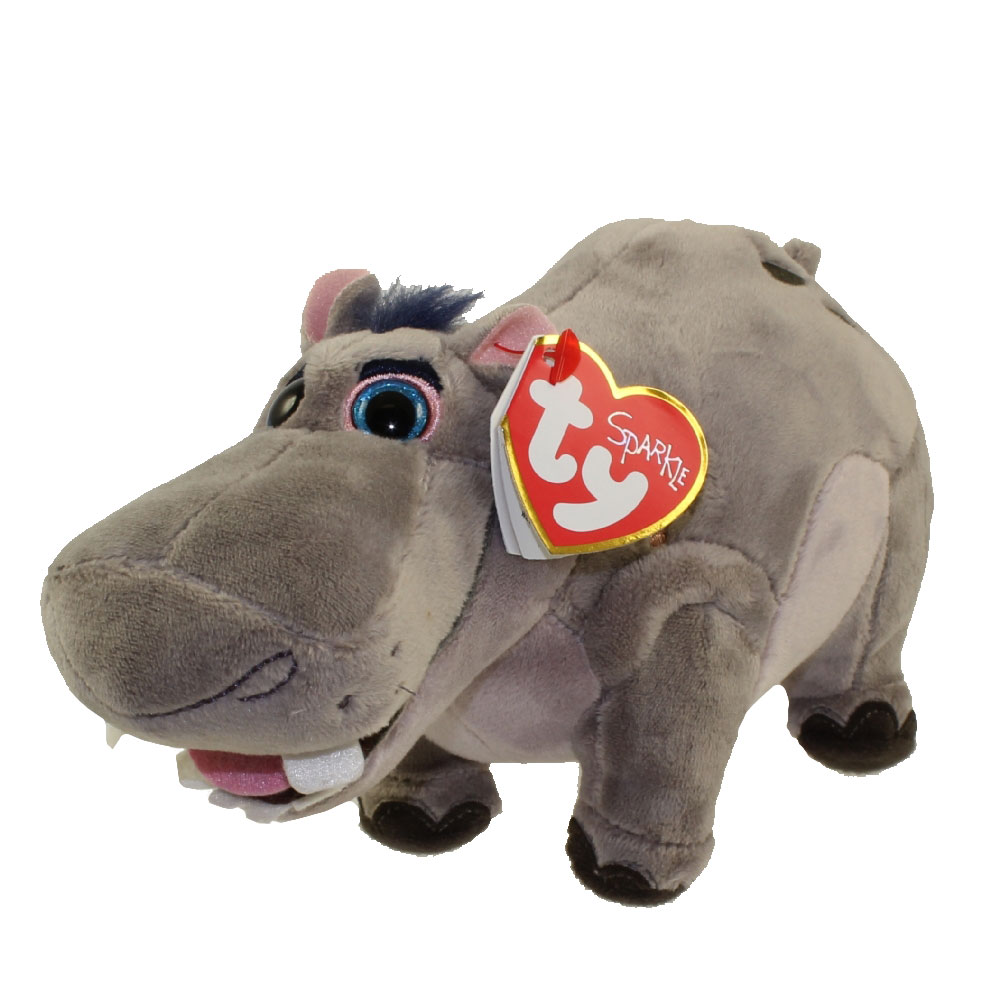 Ty Beanie Baby Beshte The Hippopotamus Disney The Lion