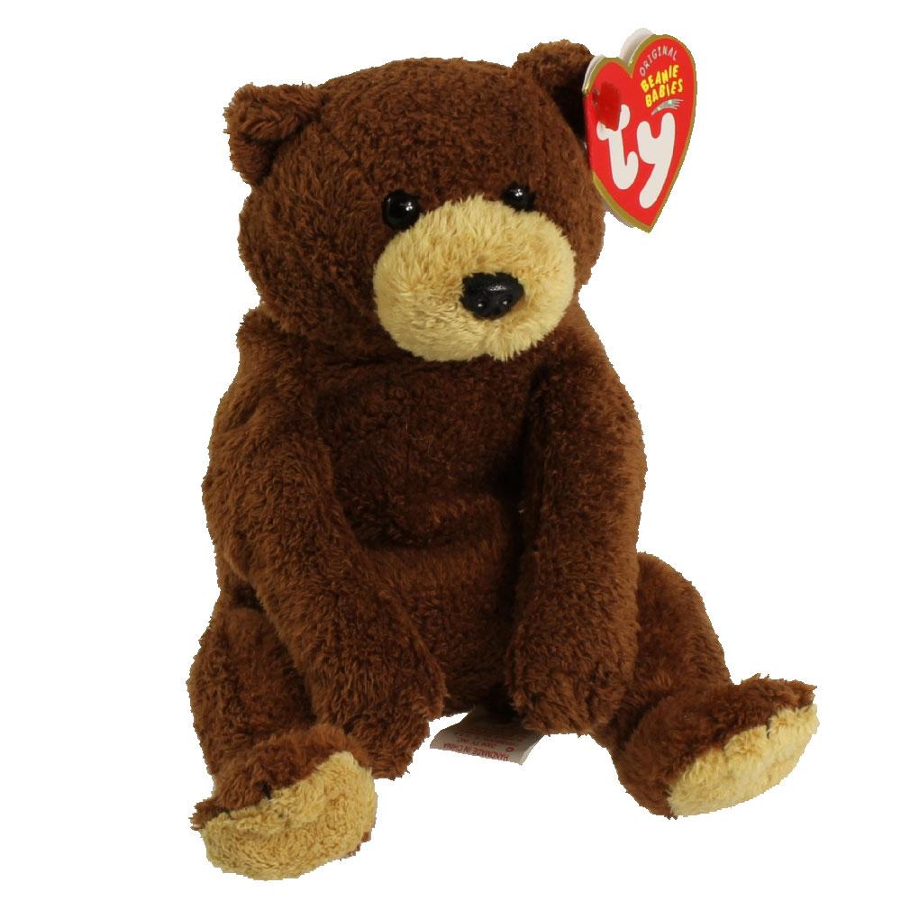 TY Beanie Baby - BIXBY the Bear (8 inch): BBToyStore.com