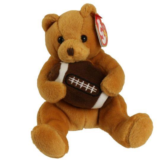 TY Beanie Baby - BLITZ the Football Bear (5.5 inch): BBToyStore.com ...