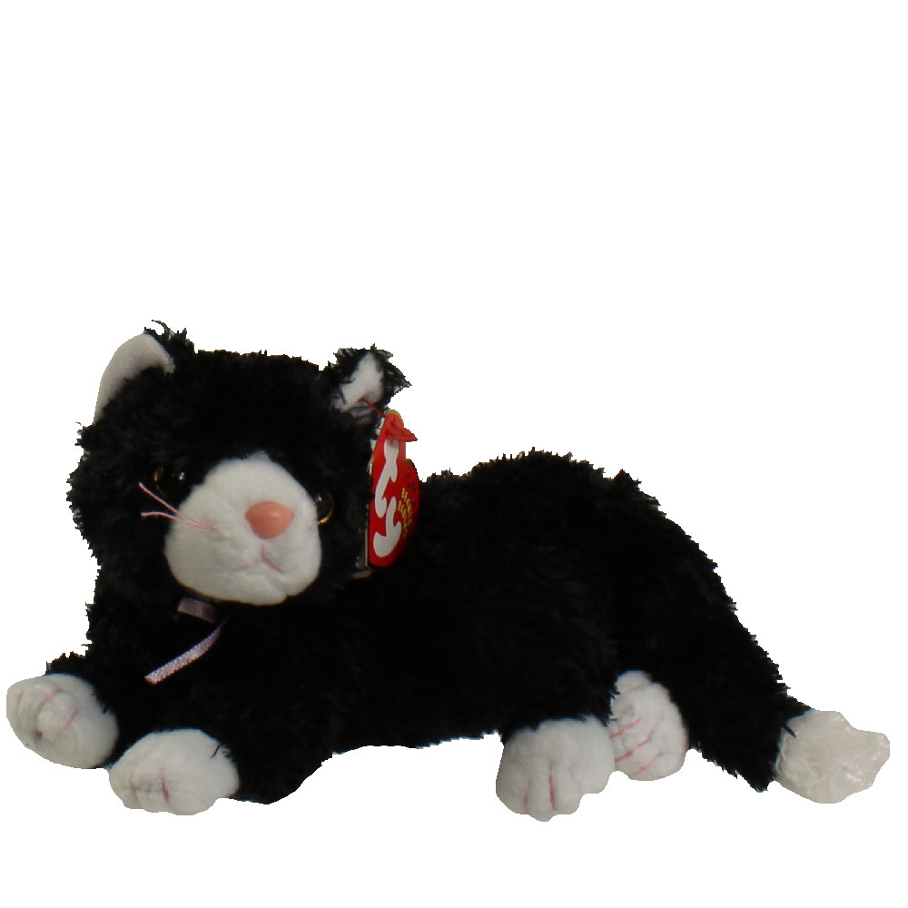 Ty Beanie Baby Booties The Black Amp White Cat 8 Inch