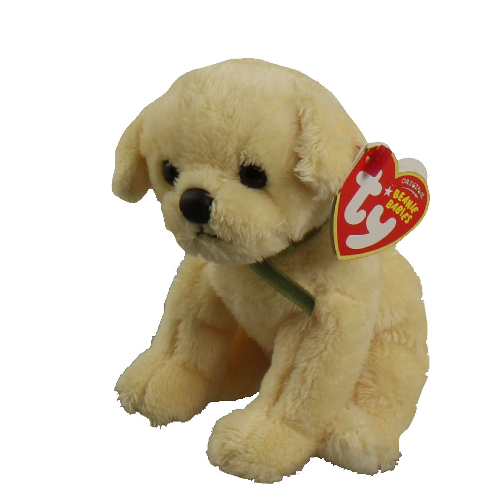 TY Beanie Baby - BOUNDS the Gold Dog (6 inch)  BBToyStore.com - Toys ... 9618b250093