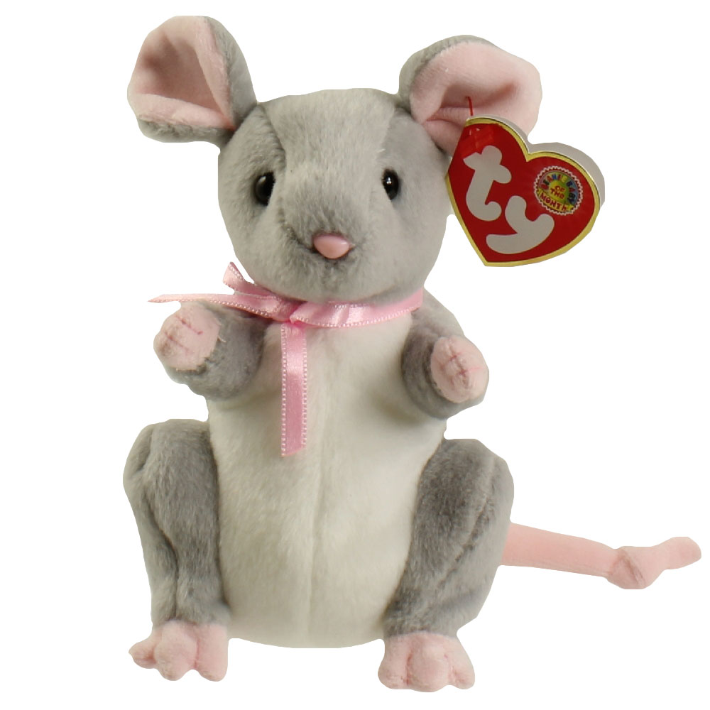 TY Beanie Baby - BREADCRUMBS the Mouse (BBOM May 2005) ... de39bb2fd70