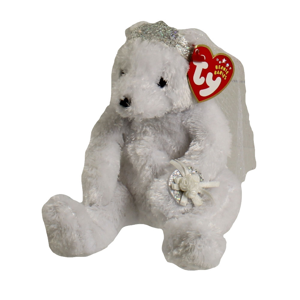 d0262e0e96a TY Beanie Baby - BRIDE the Wedding Bear (8 inch)