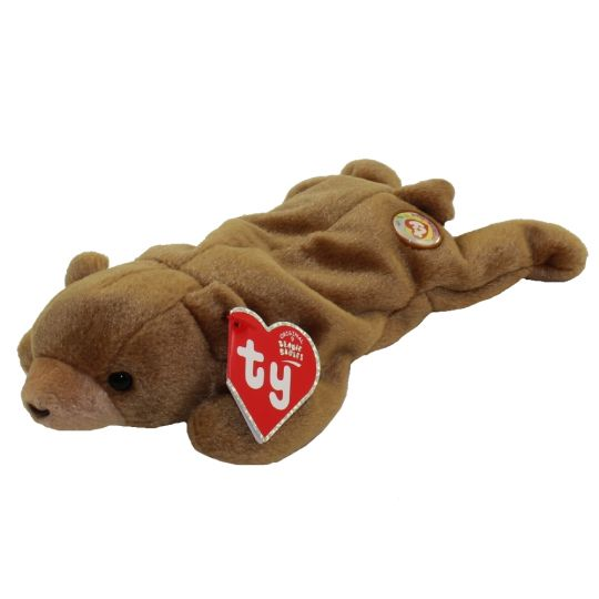 f019f21df TY Beanie Baby - BROWNIE the Bear (BBOC Exclusive) Rare!