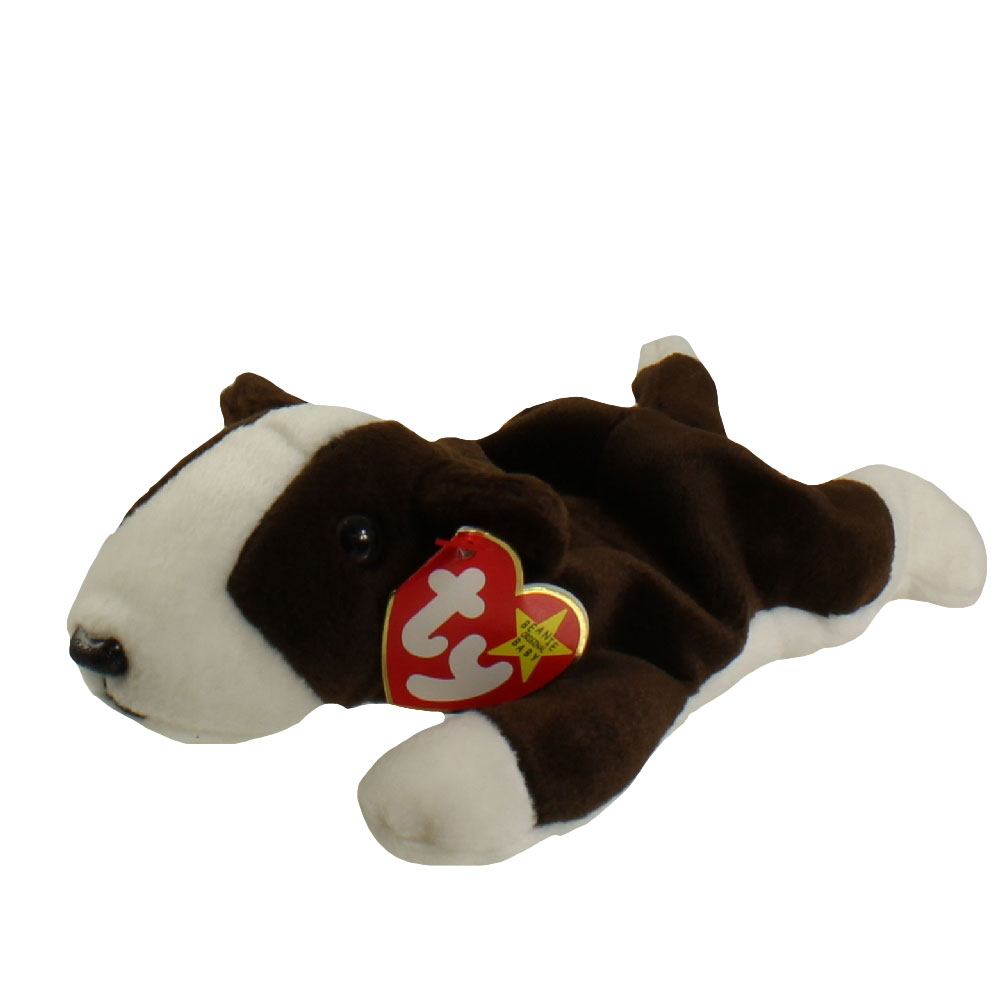 Ty Beanie Baby Bruno The Bull Terrier Dog 8 5 Inch