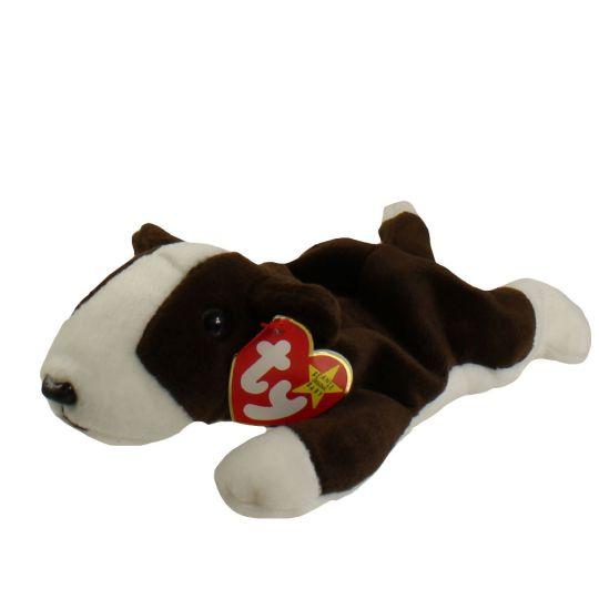 TY Beanie Baby - BRUNO the Bull Terrier Dog (8.5 inch)  BBToyStore.com -  Toys d1d435f828e