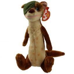 c8ce52e3776 TY Beanie Baby - BUCK the One Eyed Weasel ( Ice Age 3 Movie Beanie )