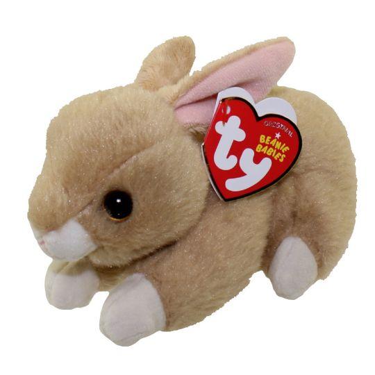 TY Beanie Baby - BUNNIE the Brown Bunny (6 inch): BBToyStore.com ...