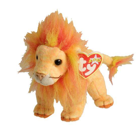 TY Beanie Baby - BUSHY the Lion (7 inch)  BBToyStore.com - Toys ... 4c396a3ac9bf