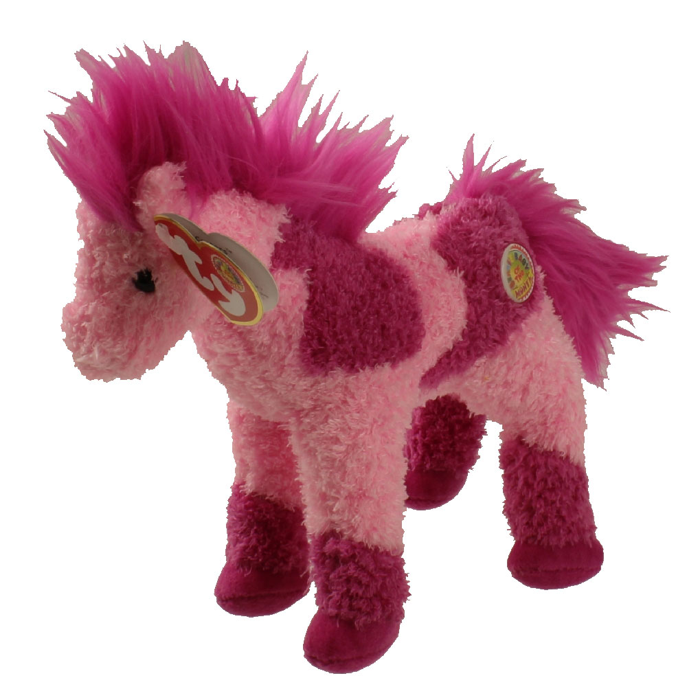 Ty Beanie Baby Canters The Pink Horse Bbom April 2006 7 Inch