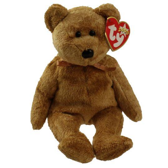TY Beanie Baby - CASHEW the Bear (8.5 inch)  BBToyStore.com - Toys ... 8781ba693b1