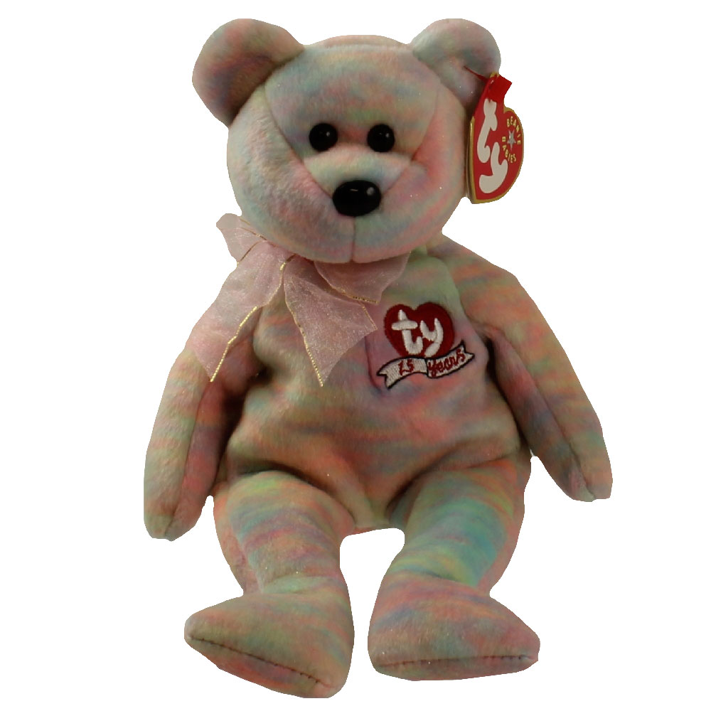 Ty beanie baby celebrate the bear 8 5 inch bbtoystore for Bb shop