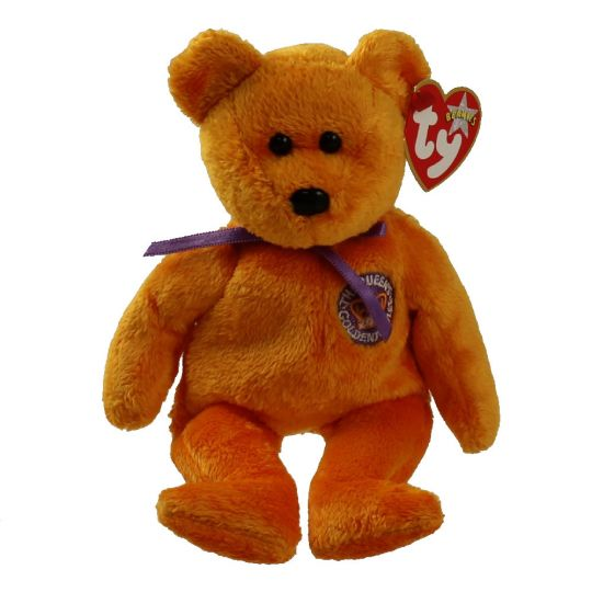 47778608edd TY Beanie Baby - CELEBRATIONS the Golden Jubilee Bear (Country Exclusive)  (8.5 inch)  BBToyStore.com - Toys