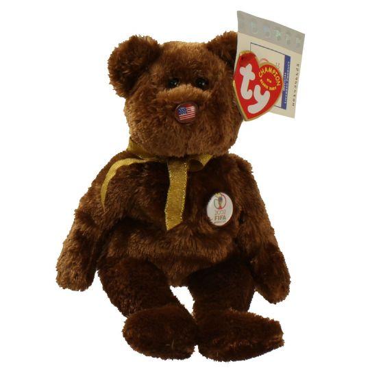 d47e54261c0 TY Beanie Baby - CHAMPION the FIFA Bear ( Random Misc Version ) (8.5 inch)   BBToyStore.com - Toys