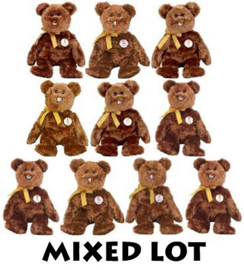 bfc7a79fe3e TY Beanie Babies - Mixed Lot of 10 CHAMPION Bears (All Different Countries)  (8.5 inch)  BBToyStore.com - Toys