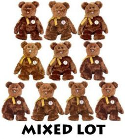 f6c06e36bfe TY Beanie Babies - Mixed Lot of 10 CHAMPION Bears (All Different Countries)  (