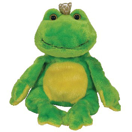 d5349465a05 TY Beanie Baby - CHARM the Frog  BBToyStore.com - Toys