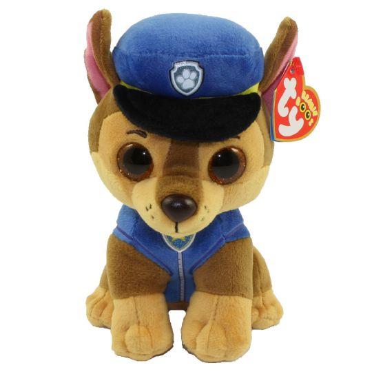 ty beanie baby paw patrol chase german shepherd 6 inch