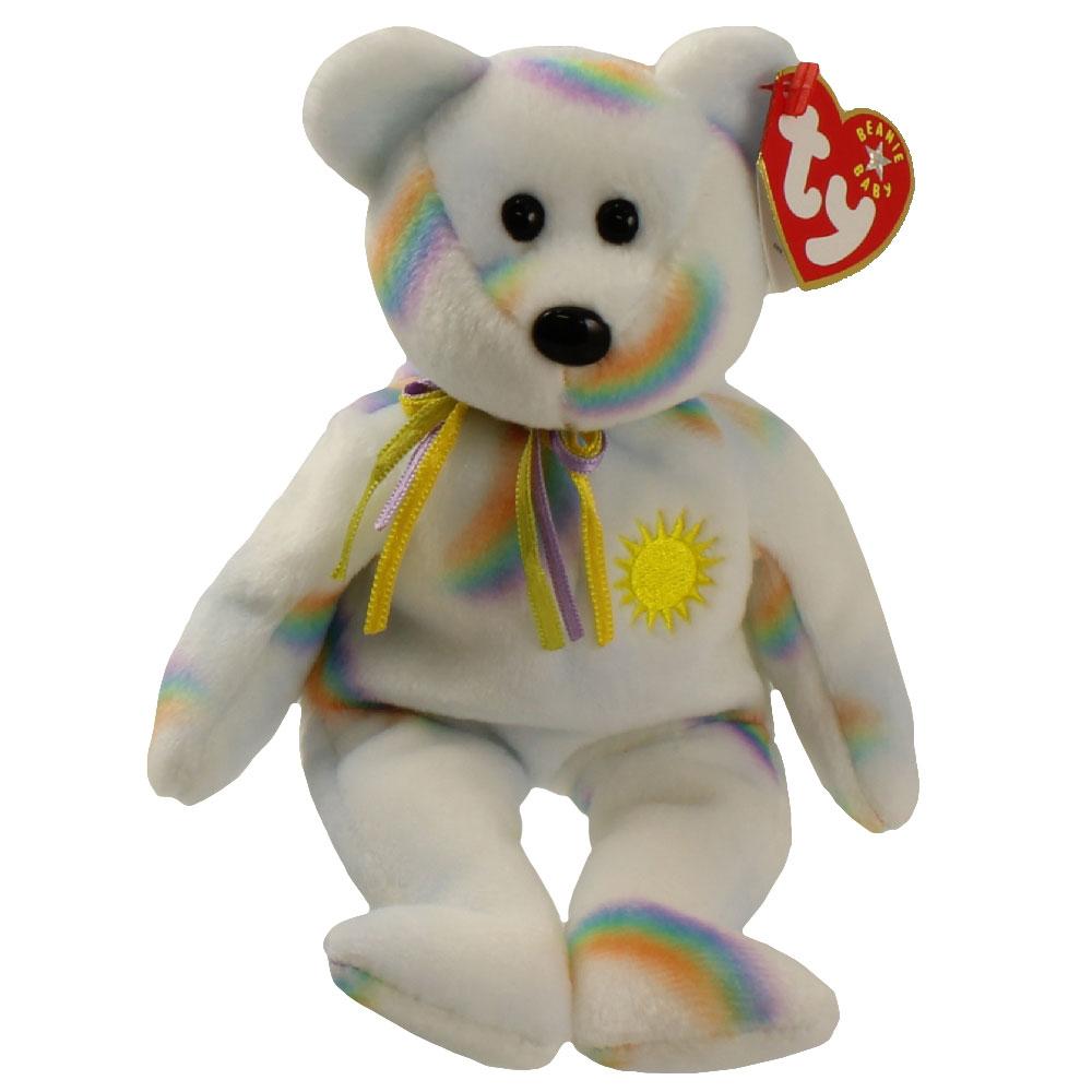 0e0204cd5aa TY Beanie Baby - CHEERY the Sunshine Bear (8.5 inch)  BBToyStore.com -  Toys
