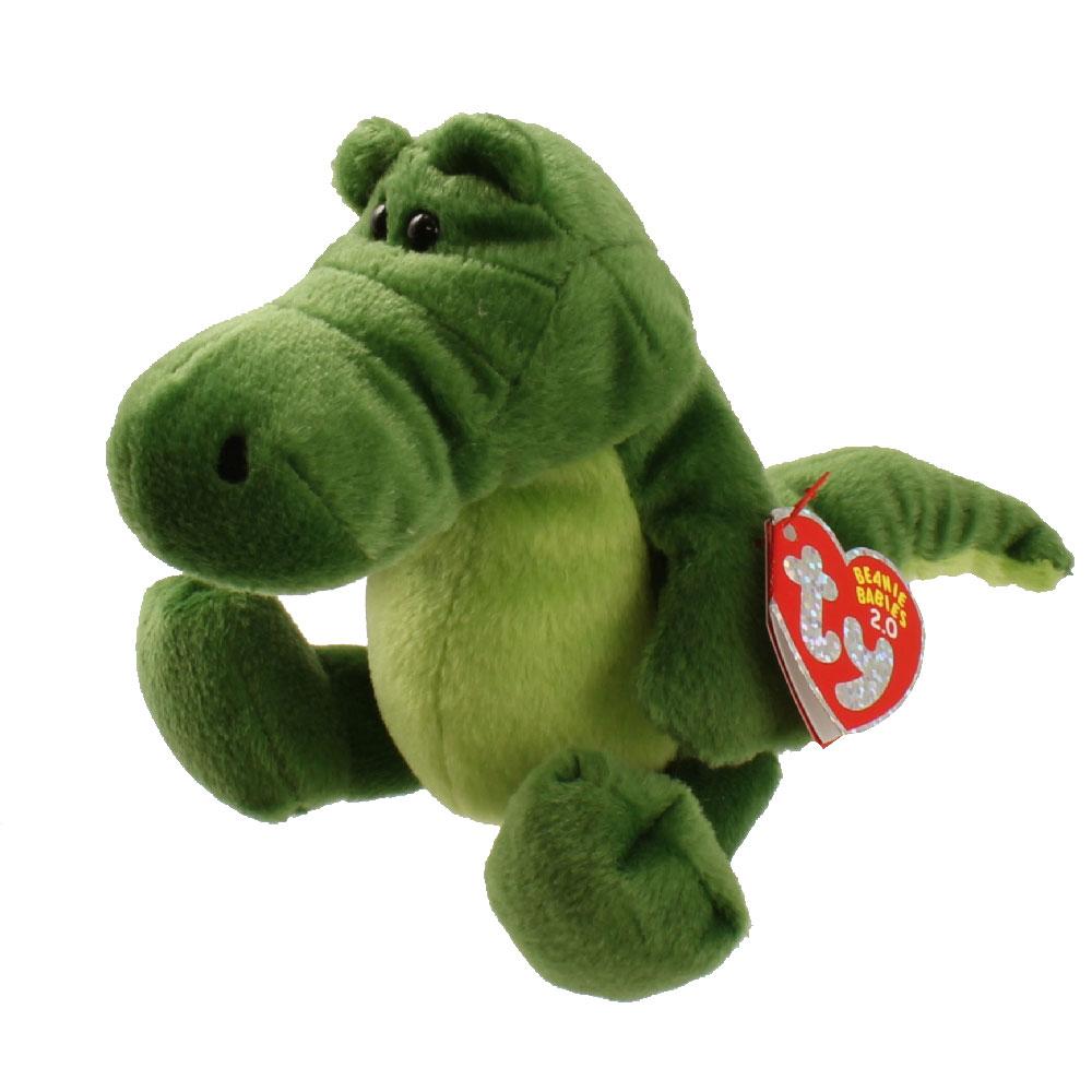 a62e41d72e3 TY Beanie Baby 2.0 - CHOMPY the Alligator (6 inch)