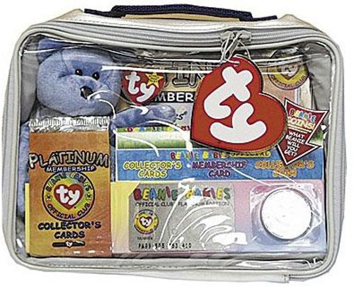 b7554c3128a TY Beanie Baby - CLUBBY 2 the Bear (w  Complete Platinum ...