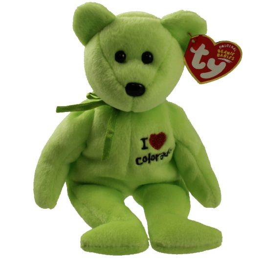 f2bcd62cbfb TY Beanie Baby - COLORADO the Bear (I Love Colorado - State Exclusive) (8.5  inch)  BBToyStore.com - Toys