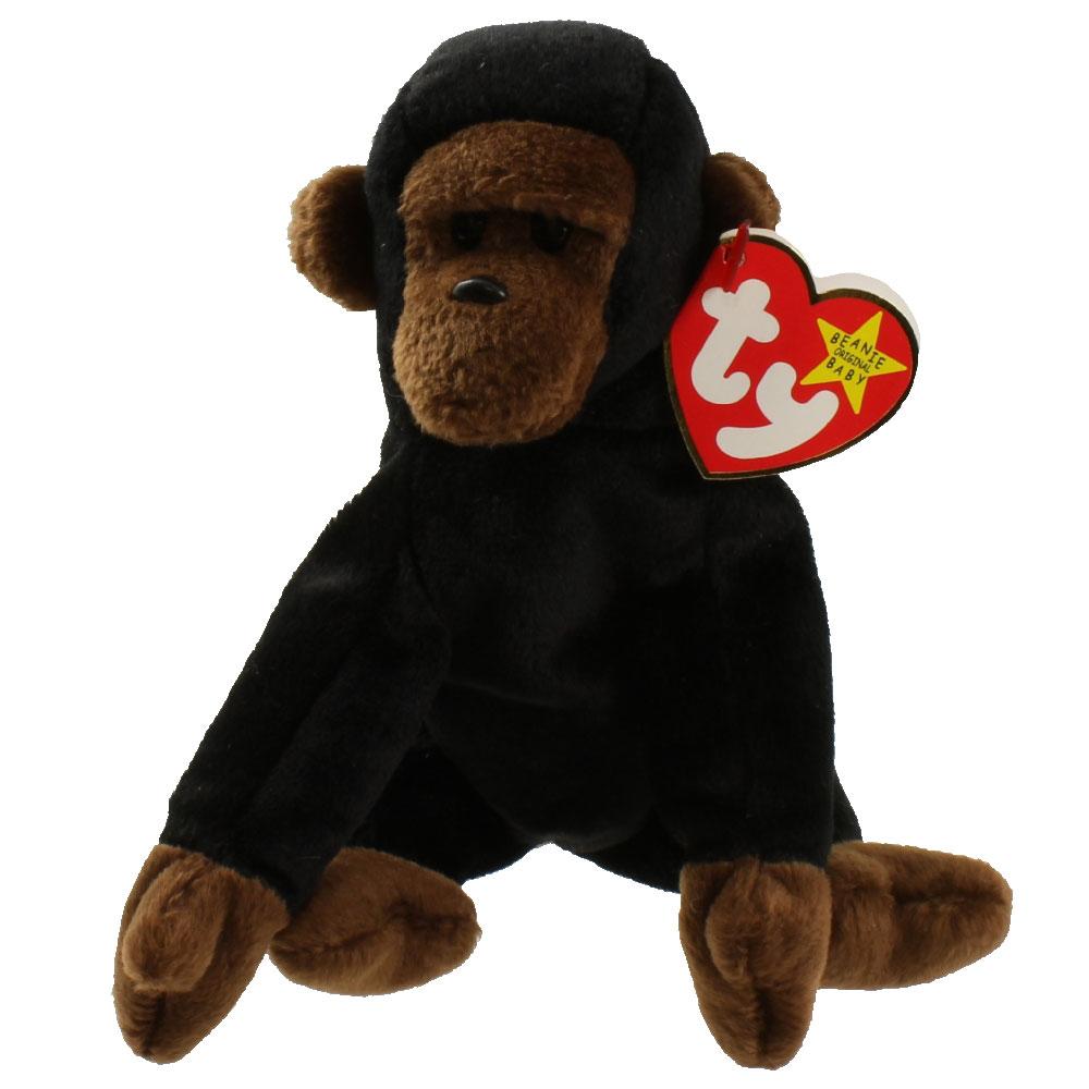 Ty Beanie Baby Congo The Gorilla 5 5 Inch Bbtoystore