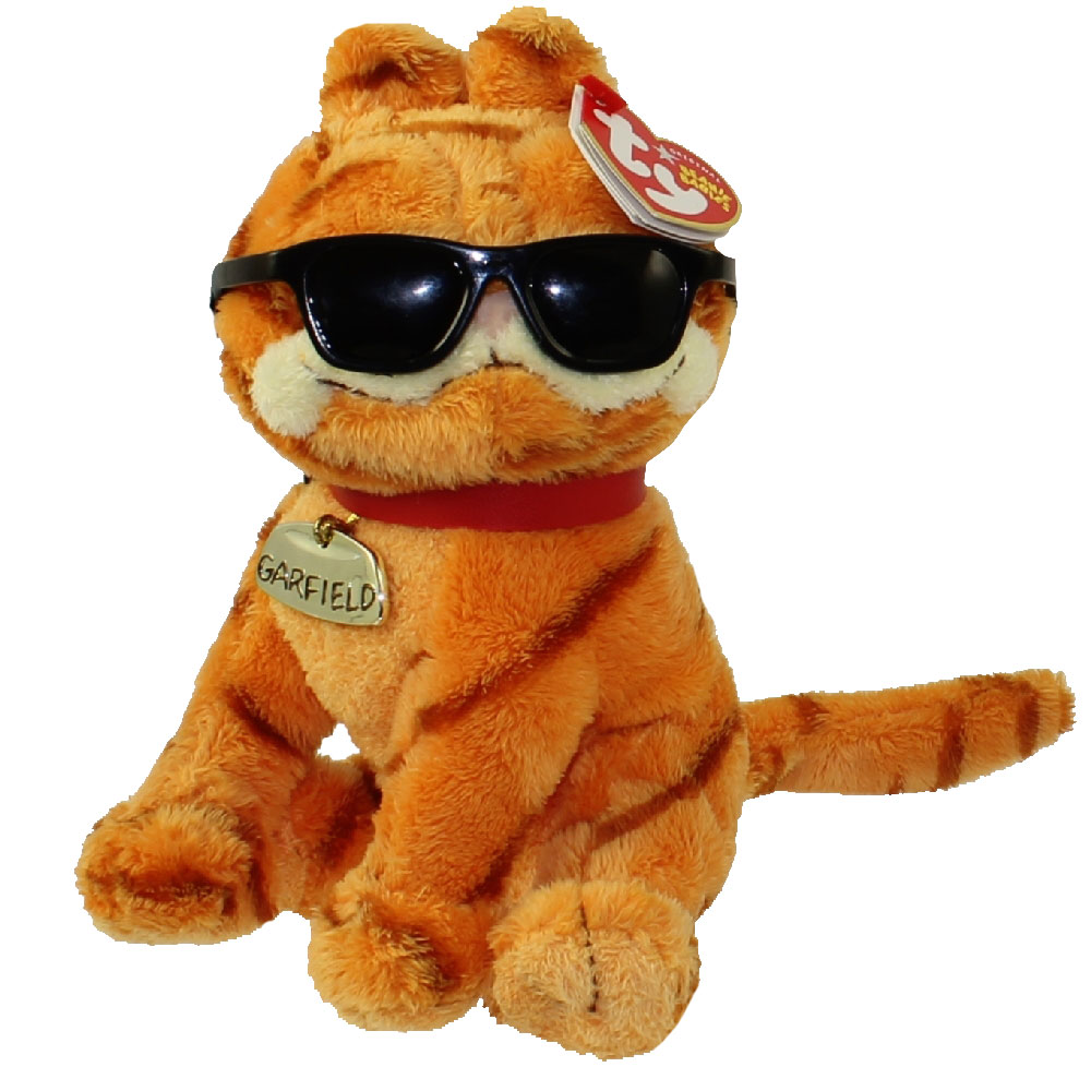 TY Beanie Baby - GARFIELD the Cat (COOL CAT) (6.5 inch)