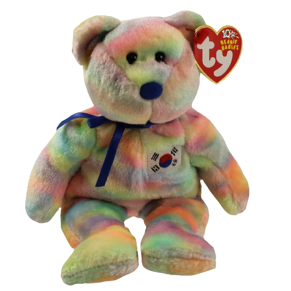 TY Beanie Baby - COREANA the Bear (Korean Exclusive) (8.5 inch)