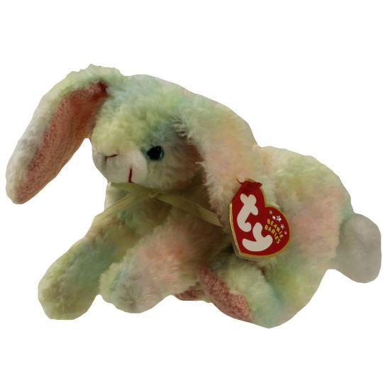 18b05c267a3 TY Beanie Baby - COTTONBALL the Bunny (7.5 inch)  BBToyStore.com - Toys
