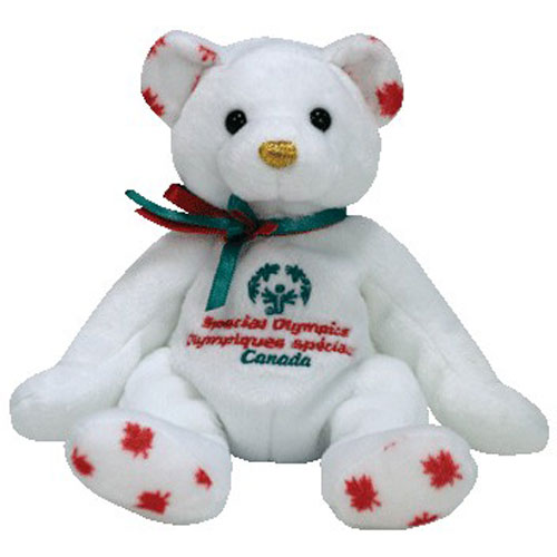 Ty Beanie Baby Courageous The Bear Canada Exclusive 7
