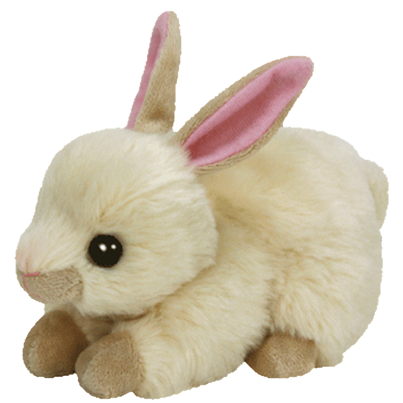 Ty Beanie Baby Creampuff The Cream Color Bunny 6 Inch