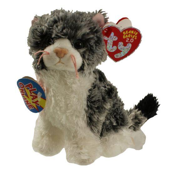 3b69ba773e4 TY Beanie Baby 2.0 - CRICKET the Cat (5 inch)  BBToyStore.com - Toys ...