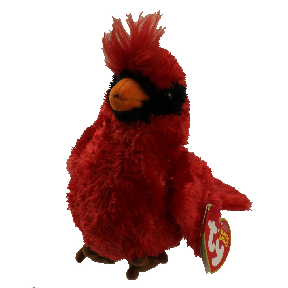 Ty Beanie Baby Crooner The Cardinal Bird 5 Inch
