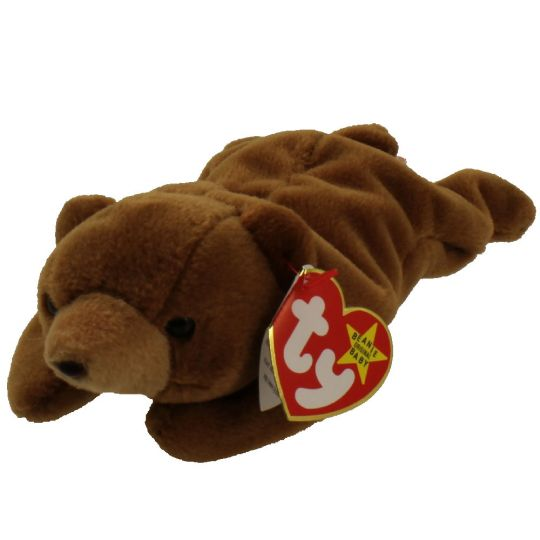 TY Beanie Baby - CUBBIE the Brown Bear (4th Gen hang tag) (8.5 inch)   BBToyStore.com - Toys d51d82fc59b