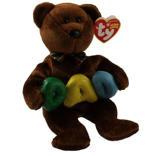 f60ba82cd42 TY Beanie Baby - DAD the Bear (8.5 inch)  BBToyStore.com - Toys ...