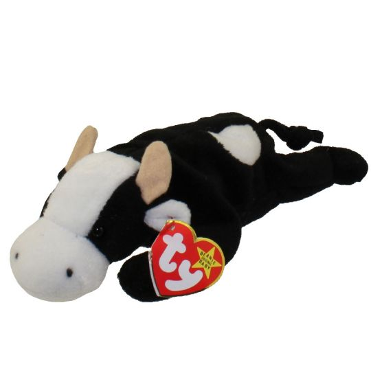 39077640bd7 TY Beanie Baby - DAISY the Cow (9 inch)  BBToyStore.com - Toys ...