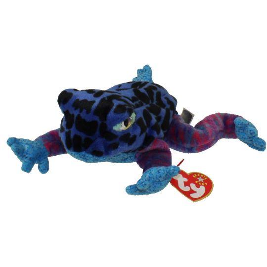 Ty Beanie Baby Dart The Frog 8 Inch Bbtoystorecom Toys