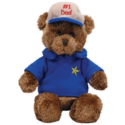 9278970357b TY Beanie Baby - DEAR DAD the Bear (Hallmark Gold Crown Exclusive) (8  inch)  BBToyStore.com - Toys