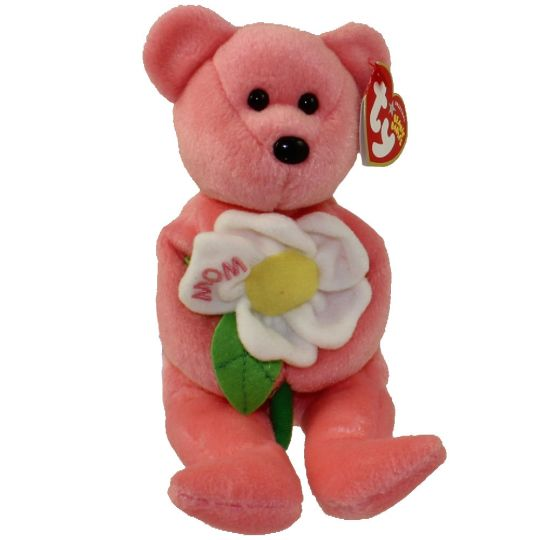 009898ab499cab TY Beanie Baby - DEARLY the Bear (Hallmark Gold Crown Exclusive) (8.5  inch)  BBToyStore.com - Toys