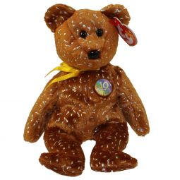 TY Beanie Baby - DECADE the Bear (Brown Version - Internet Exclusive) (8.5 2acdf4ad091f