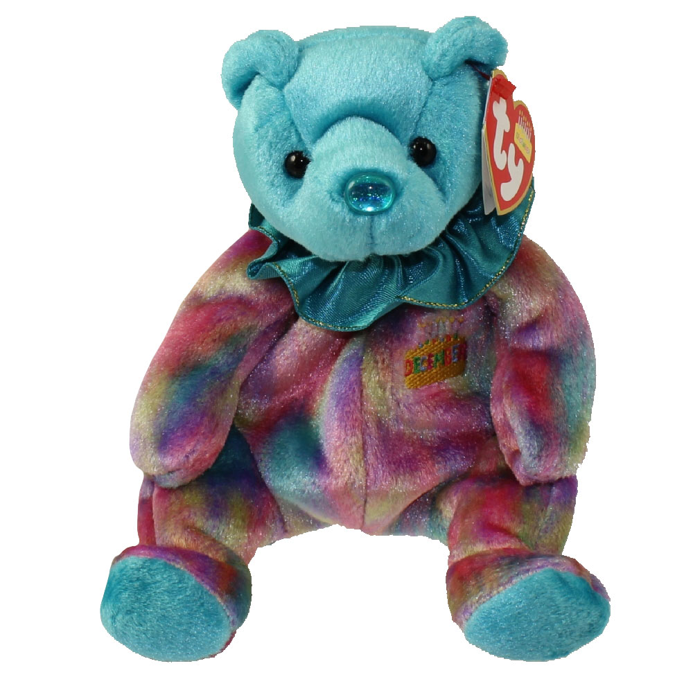 Ty beanie baby december the birthday bear 7 5 inch for Bb shop