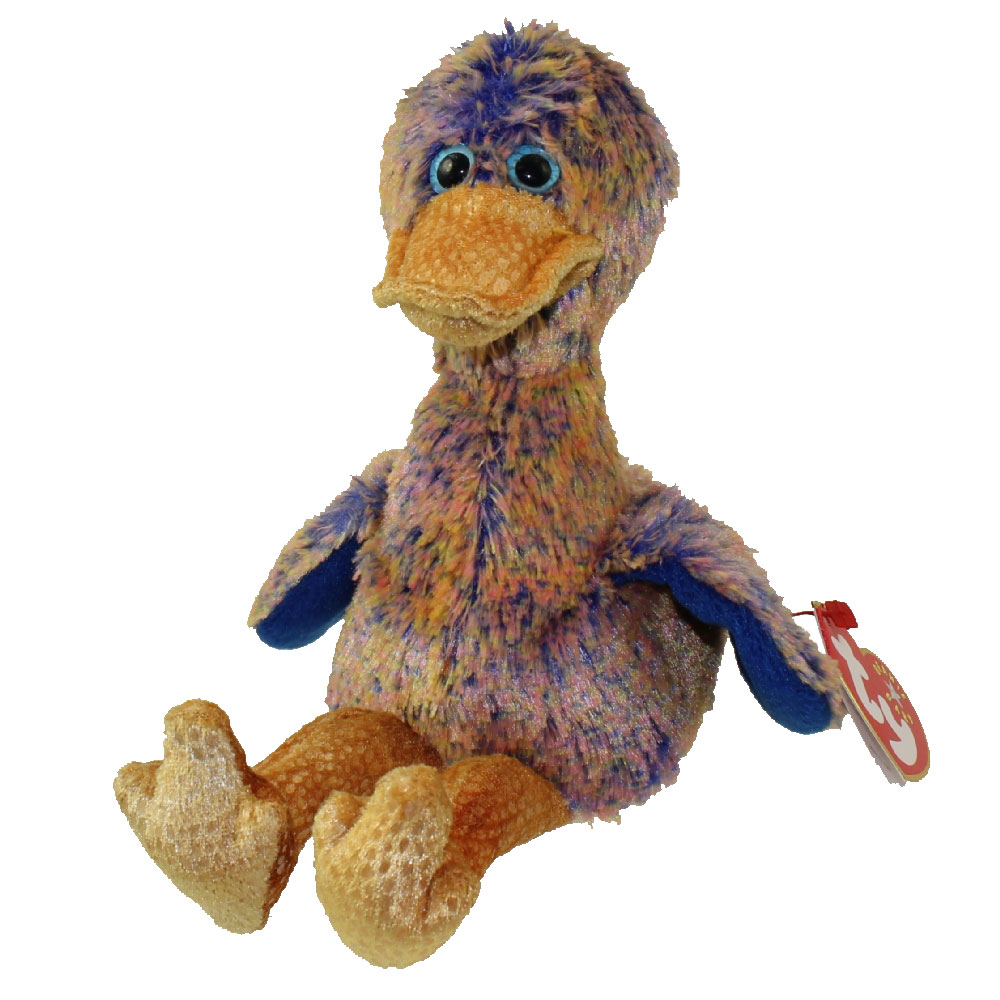 TY Beanie Baby - DINKY the Duck (5.5 inch): BBToyStore.com - Toys ...
