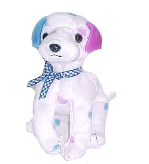 TY Beanie Baby - DIZZY the Dalmatian (colored spots   colored ears) (5.5  inch)  BBToyStore.com - Toys 426cab79247