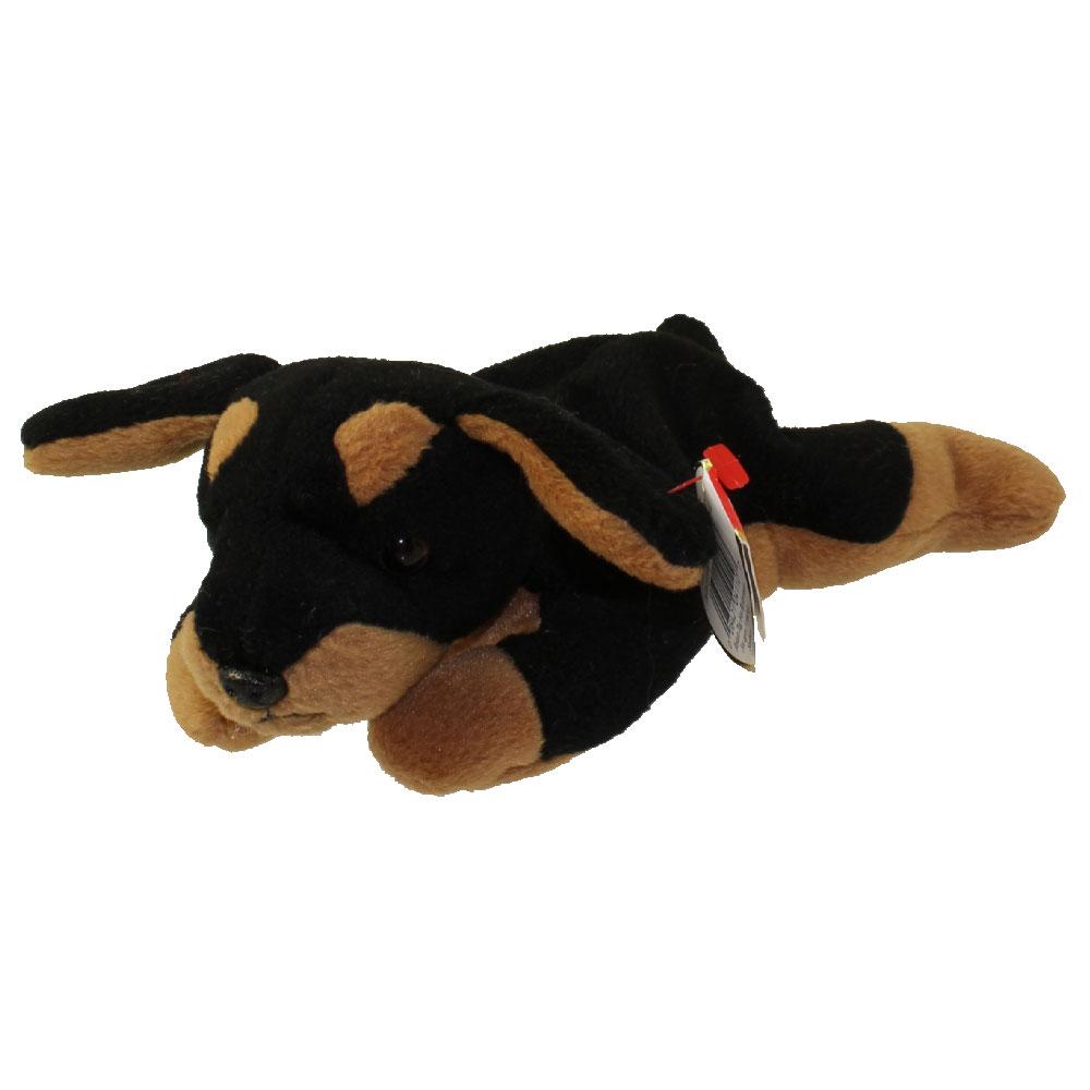 TY Beanie Baby - DOBY the Doberman Dog (8 inch)  BBToyStore.com - Toys 3390c861bc9