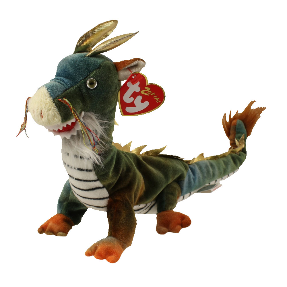 TY Beanie Baby - THE DRAGON Chinese Zodiac (10.5 inch)  BBToyStore.com -  Toys 2fa29c0d5184