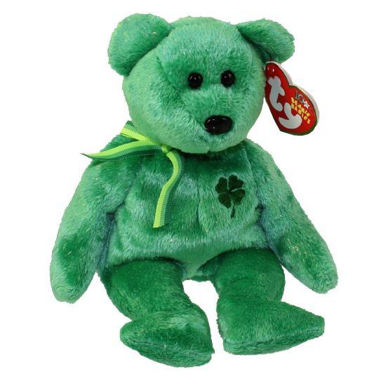 43c7ef85fc0 TY Beanie Baby - DUBLIN the Irish Bear (8.5 inch)  BBToyStore.com - Toys