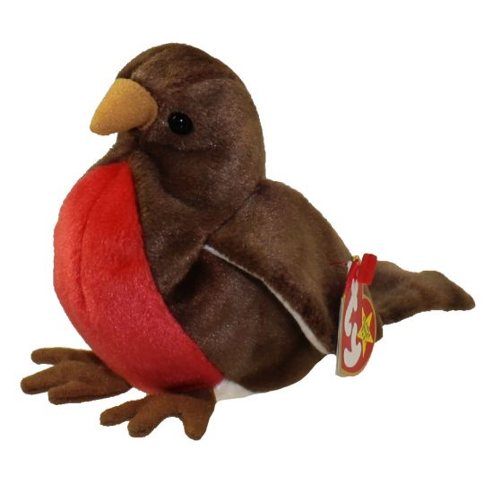 6d8f7364dad TY Beanie Baby - EARLY the Robin (4.5 inch)  BBToyStore.com - Toys ...