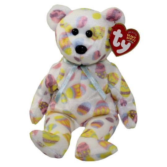 TY EGGS 2004 the BEAR BEANIE BABY MINT with MINT TAG