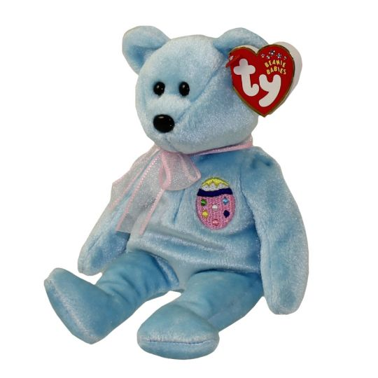 52c78305bed TY Beanie Baby - EGGS II the Easter Bear (8.5 inch)  BBToyStore.com - Toys